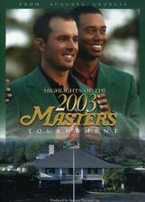 Highlights of 2003 Masters Tournament 0723952076335 With Jim Nantz DVD Region 1