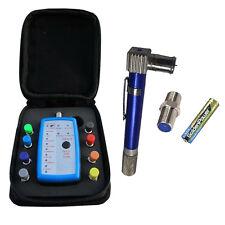 Vericom 8 Way Coax Cable Locator Mapper Tool w/case + Pocket Toner Coax Tracker