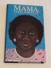 TERRY MCMILLAN SIGNED Mama 1987 UK BOOK