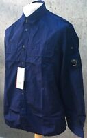 C.P. Company Navy Chrome Overshirt Brand New With Tags RRP £265 Nylon - Rare