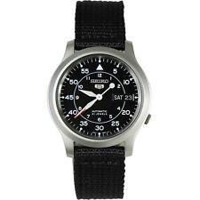 Seiko 5 Military Nylon Band Automatic Watch SNK809K2