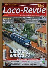 Loco Revue 784 - Novembre 2012 - Revue française de train miniature - occasion
