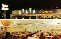 Postcard Crown Cafeteria Long Beach Pasadena California