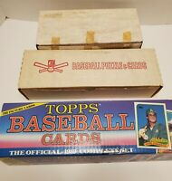 Big Lot Of 1990 Fleer + 1989 Topps Baseball Cards Boxes Collector 9lbs
