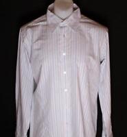 Bnwt Men's Daniel Christian Dylan Long Sleeved Shirt XXLarge 2xl Metal Cufflinks
