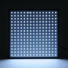 225 LED 3300LM Grow Light Panel 45w Hydroponics Room Tent Plant Lamp All White