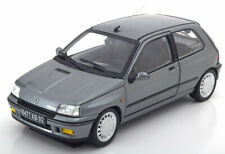 RENAULT CLIO 16S PHASE 1 1991 GRIS TUNGSTENE NOREV 185234 1/18 METAL