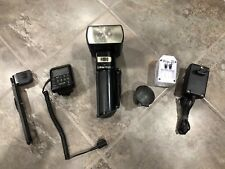 Metz 50 MZ-5 Flash Unit With Control Unit, Charger, Needs New Batteries