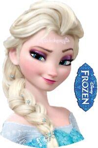 Edible FROZEN Elsa Braid Face Braided Hair Cakes Icing Topper