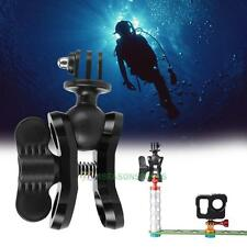 Diving Light Butterfly Clip Arm Clamp Mount Ball Adapter Connector For Hero5 4 3