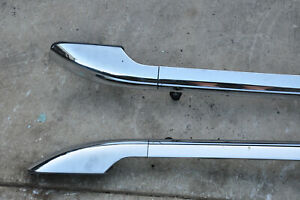 2005 Lincoln Aviator Roof Rack Factory Chrome Roof Rack Roof Rails Roof Bars