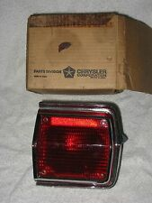 NOS Mopar 1965 Plymouth Fury Wagon Right Tail Light Assembly