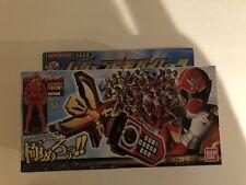 Bandai Kaizoku Sentai Gokaiger DX Legend Mobirates and Aka Red Ranger Key
