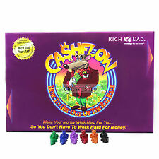 New Cashflow 101 Rich Dad Robert Kiyosaki Boardgame GIFT  + FREE Express SHIP UK