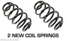 MERCEDES BENZ C-CLASS SALOON W203 00-07 REAR SUSPENSION 2 COIL SPRINGS NEW PAIR
