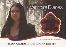 """Vampire Diaries Season 2 - M29 Nina Dobrev """"Elena Gilbert"""" Wardrobe Card"""