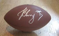 SOUTH CAROLINA GAMECOCKS JADEVEON CLOWNEY HAND SIGNED NFL FOOTBALL W/COA