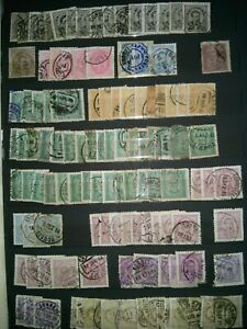 Portugal stamps: King Luis & King Carlos 11.5 Perf