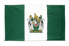 Rhodesia Flag 5 x 3 FT - 100% Polyester With Eyelets