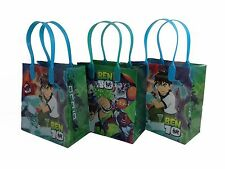 12pc Ben 10 Birthday Party Favors Goody Loot Gift Candy Bags