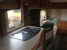 Twin axle touring caravan