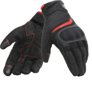 Dainese Air Master Motorcycle Gloves Blk/Rd (rrp £69.95) **Now £44.99**