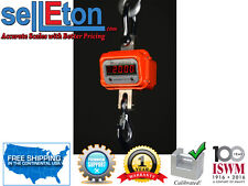 SellEton Heavy Duty Crane Scale  Hanging Hoist Large Enclosure 2000 lbs x .5 lb