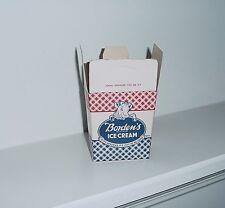 Borden's Vintage 1950's Ice Cream Pint Container - Unused - NOS