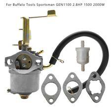 6generator Carburetor For Buffalo Tool Sportsman Gen1100 Gen154 15002000 Watts