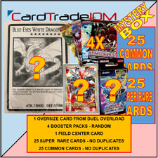 Yu-Gi-Oh! MYSTERY BOX 007 - Duel Overload + OVERSIZE CARDS + Special Edition etc