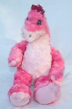 "Build a Bear 17"" Plush Dinosaur Pink Apatosaurus stuffed animal"