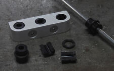 Brake Line Clamps/ Fuel Line Clamps CUSTOM INSERT-Three Hole 812-3 Alter Ego MC