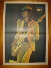 SOUNDS 1973 SEPT 8 TETSU MUSIC POSTER