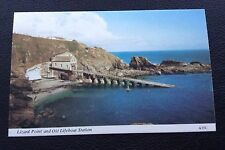 LIZARD POINT AND OLD LIFEBOAT STATION, A35C, COLOUR, UN POSTED, POSTCARD