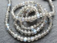 """3mm Micro Sfaccettato Labradorite mm, 14"""", 135 Beads"""