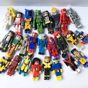 Random 8PCS Marvel Universe Minimates Spider Man Wolverine Figures Kids Toy