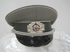 NVA Schirmmütze 1969  Gr.58 ähn.Wehrmacht Offizier  Uniform-Artikel  sammeln DDR