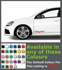 Renault Megane Side Premium Decals/Stickers x 2
