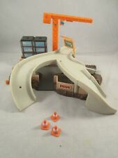 Vintage 1995 Galoob Micro Machines Construction City Hiways & Byways Playset