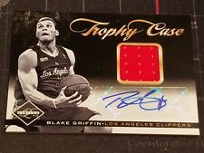 Blake Griffin 2011-12 Limited Trophy Case Materials Signatures Auto #6 9/25