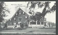 1929 Girls' Friendly Society MA Holiday House Camp For Girls Milford NH Postcard