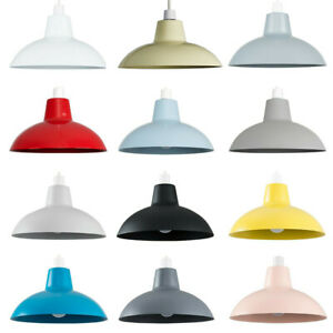 MiniSun Ceiling Light Shade - Retro Easy Fit Ceiling Pendant Lampshade Kitchen