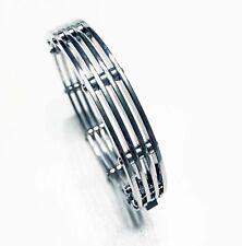 Stunning Stainless Steel Mens Handmade Bracelet