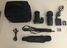 Sony Alpha DSLR-A200 10.2MP Digital SLR Camera - Black (Kit w/ DT 18-70mm and...
