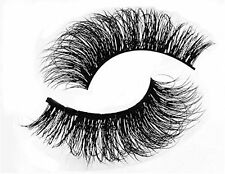 100% Real Mink Natural False Fake Eyelashes Eye Lashes Makeup Extension