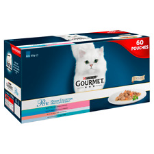 GOURMET PERLE CHEF'S OCEAN COLLECTION IN GRAVY 60PK CAT FOOD - 85G