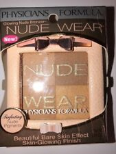 NEW Physicians Formula Nude Wear Glowing Nude Bronzer Light Bronzer #6236