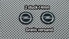 Schlüssel fernbedienung  emblem logo aufkleber key fob Opel 14 mm (2 stuck)