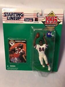 1995 Kenner Starting Lineup SHANNON SHARPE Denver Broncos Action Figure Toy