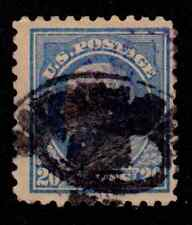US Stamp # 476 - 20¢ Franklin - ultramarine Perf. 10 VG - Fine 50